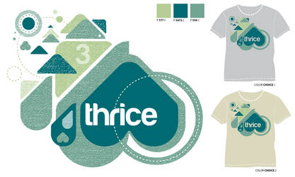 Thrice Design Contest Entry