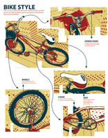 Bike Illustrations by neworlder
