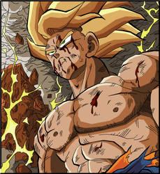 Goku - Namek's Destruction by eggmanrules