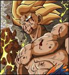 Goku - Namek's Destruction