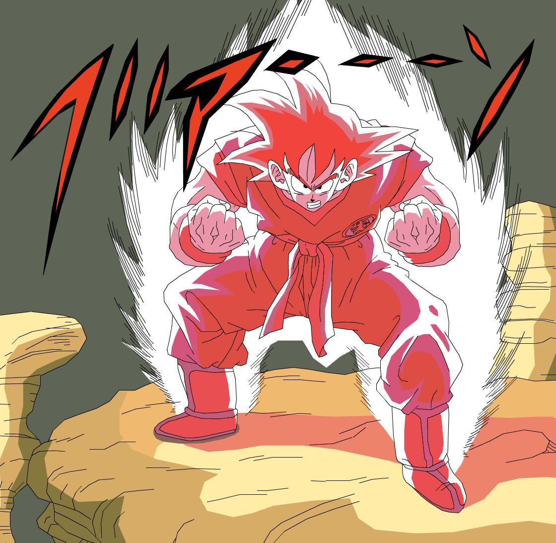 Las transformaciones de Goku Goku_Kaio_ken_by_eggmanrules