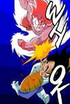 Goku Kaio-ken Vs Vegeta