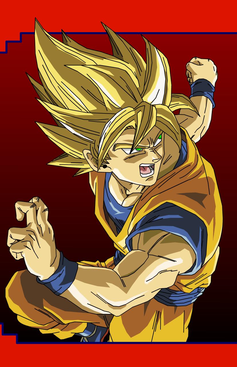 Goku Super Saiyan Transformation