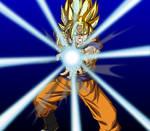 SSJ Goku - Kamehameha