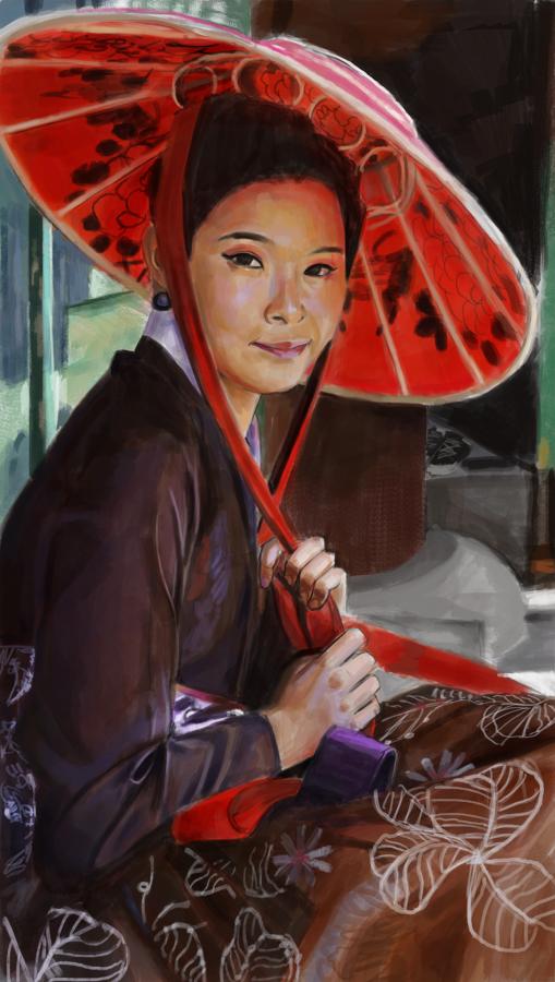 Chinese girl by kris-kros