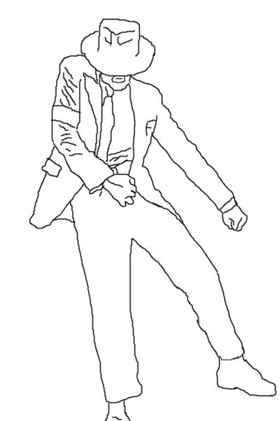 Drawing Smooth Lines List : Smooth criminal mj lineart by inubrooke on deviantart