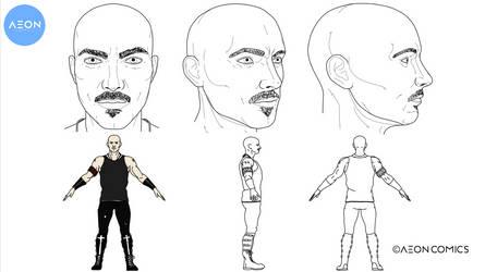 Aeon Comics Character Design