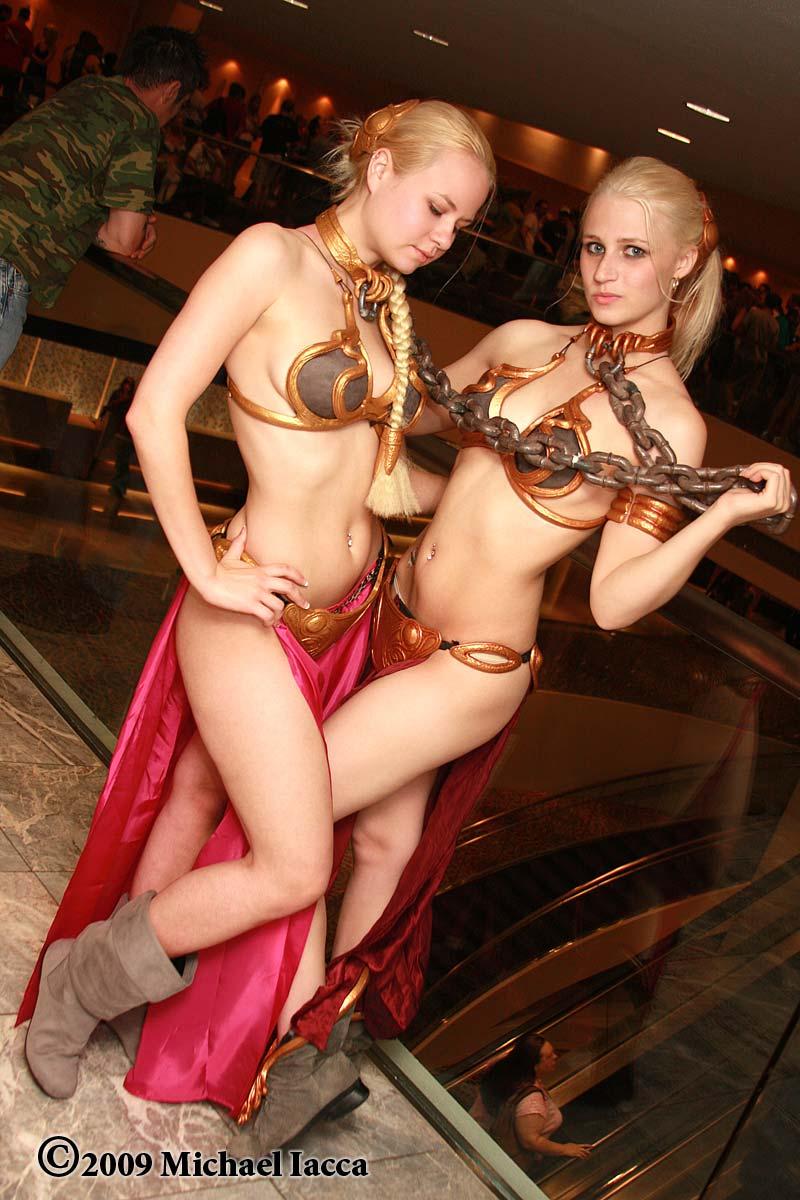 Princess Leia Slave Girls 1 by Insane-Pencil