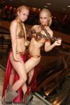 Princess Leia slave girls 2