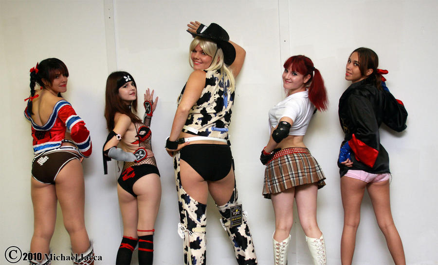 Rumble Roses Line Up 1