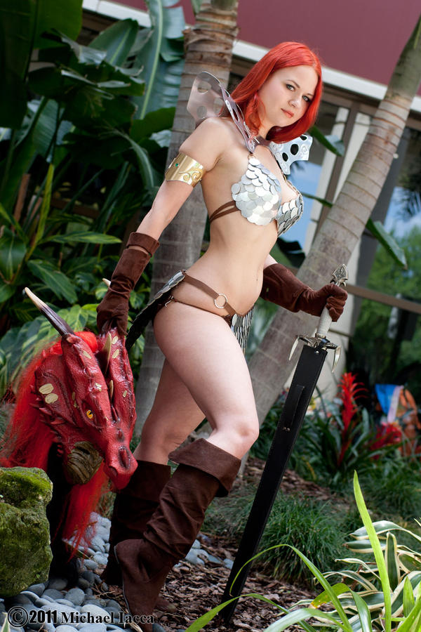 Red Sonja 5 by Insane-Pencil