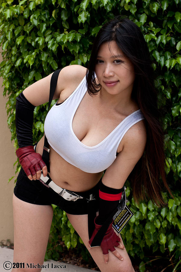 Tifa lockhart cosplay xxx