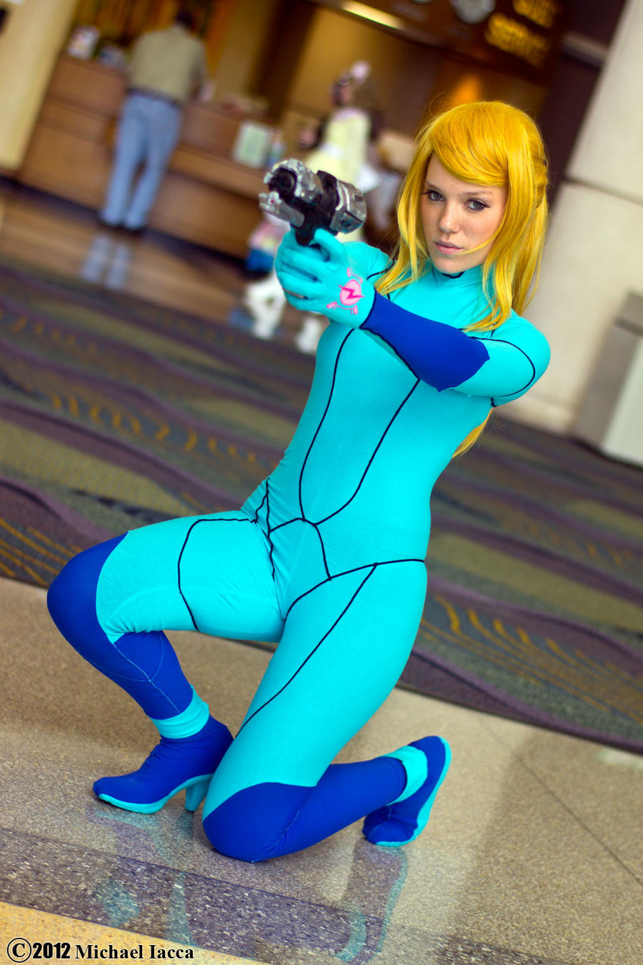 Samus Aran 12 by Insane-Pencil