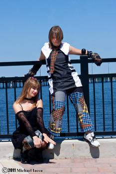 Misa Amane and Miku 1