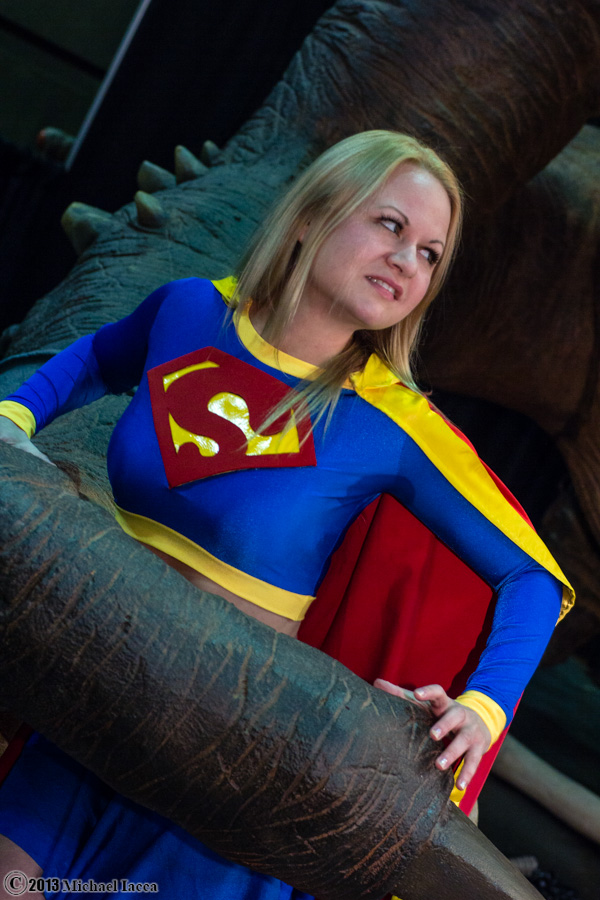 Supergirl VS Rancor 1 by Insane-Pencil
