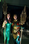 Mera and Aquaman 1