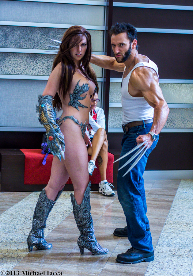 Witchblade and Wolverine 1 by Insane-Pencil