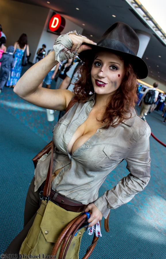 Indiana Jones : cosplaygirls