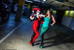 Harley Quinn and The Riddler 1