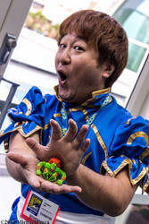 Yoshinori Ono as Chun-Li 3 by Insane-Pencil