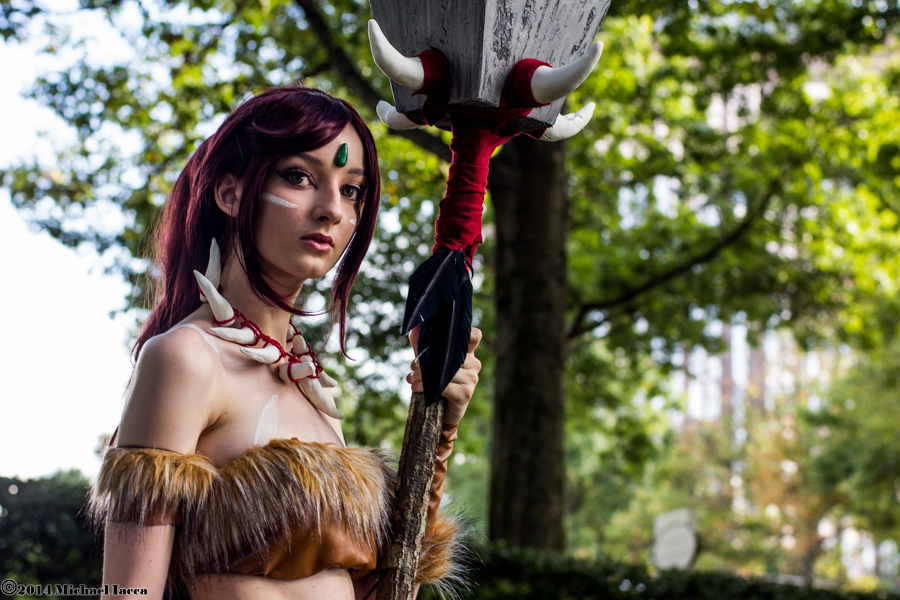 Nidalee 7 by Insane-Pencil