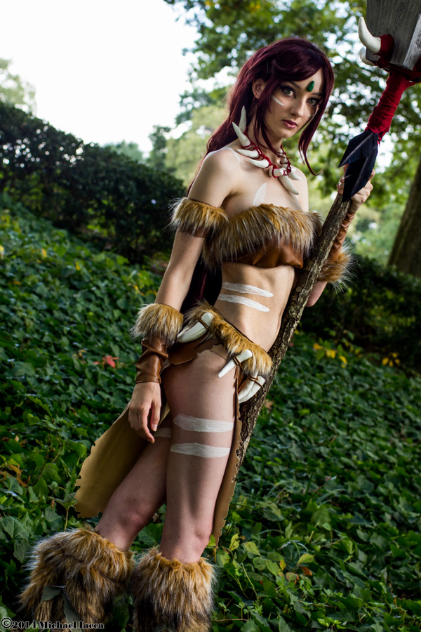 Nidalee 4 by Insane-Pencil