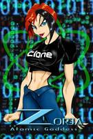 Zorja: Atomic Goddess 5 by GraphicBrat