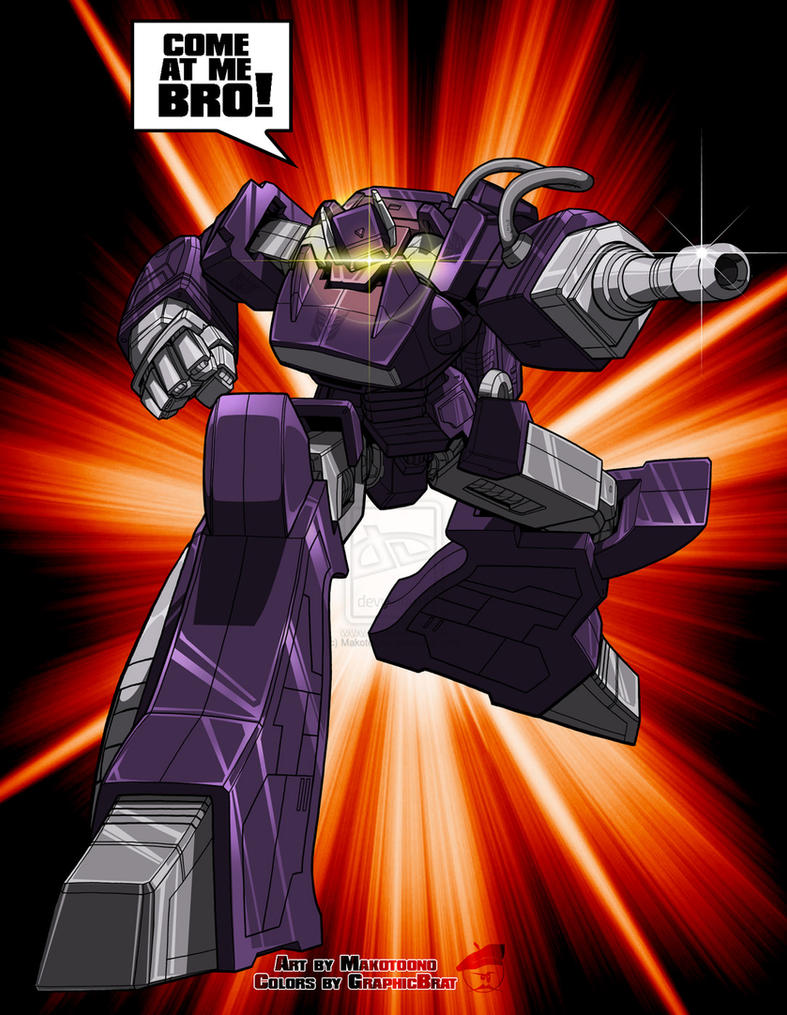 Shockwave by MakotoOno (colors by GraphicBrat) by GraphicBrat