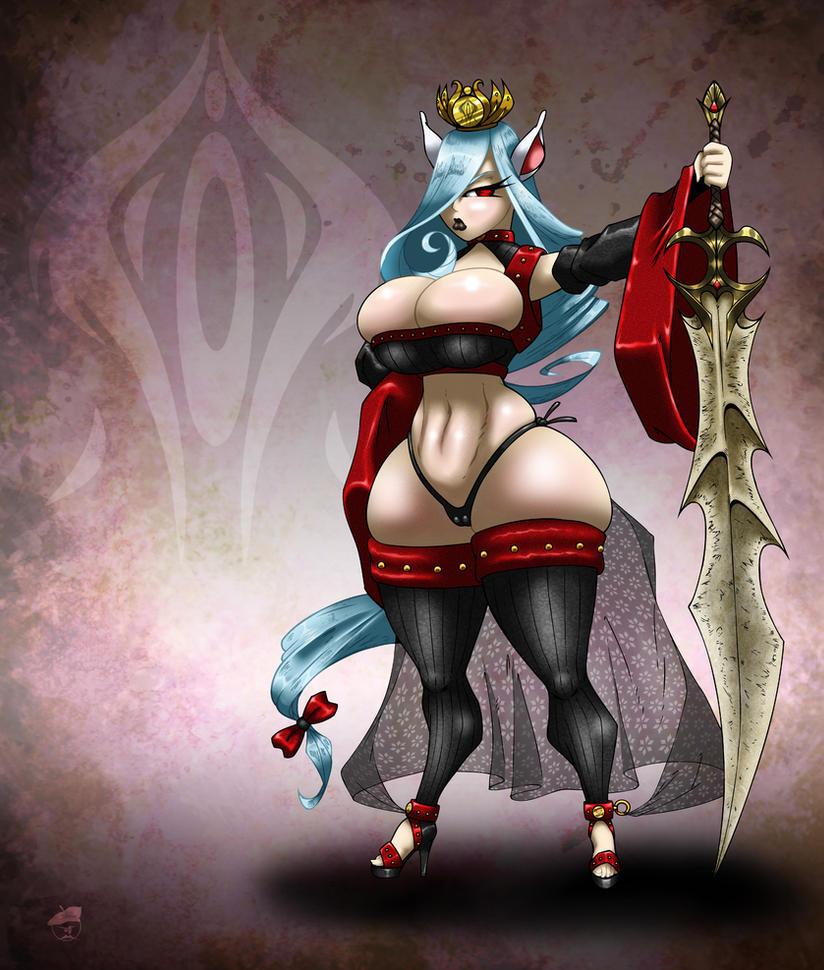 Dark Queen Yvette by GraphicBrat