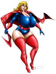 Blonde Marvel fan art
