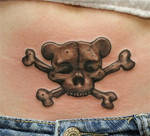 teddy skull
