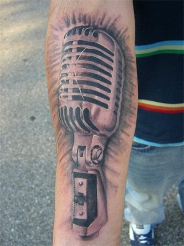 microphone by larryfarley