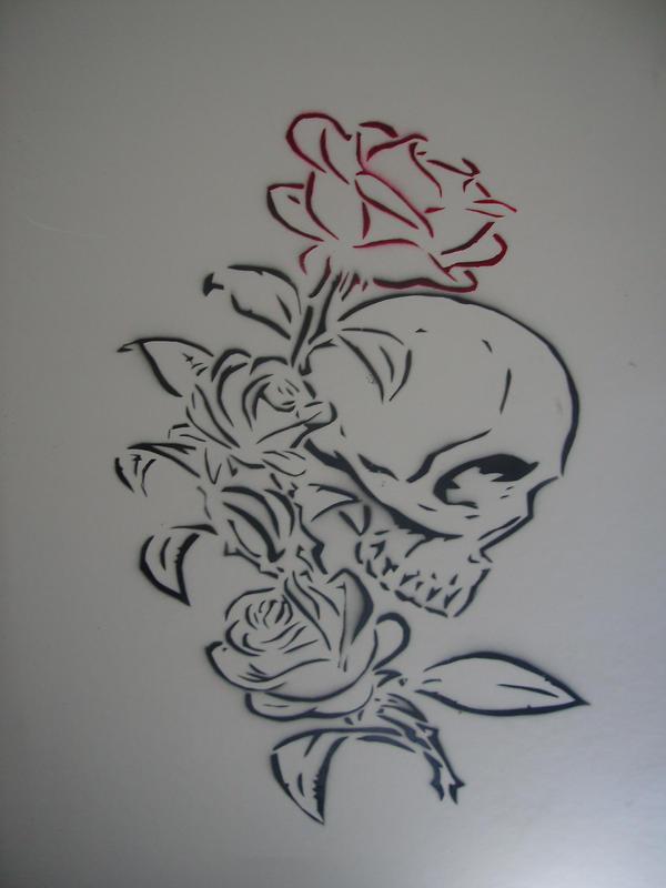 Skull Rose By Pauloxtr3m On DeviantArt