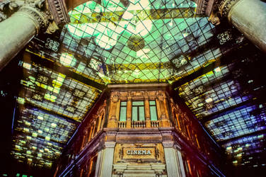 Interior of the Galleria Colonna, Roma, 1988 by zeitspuren