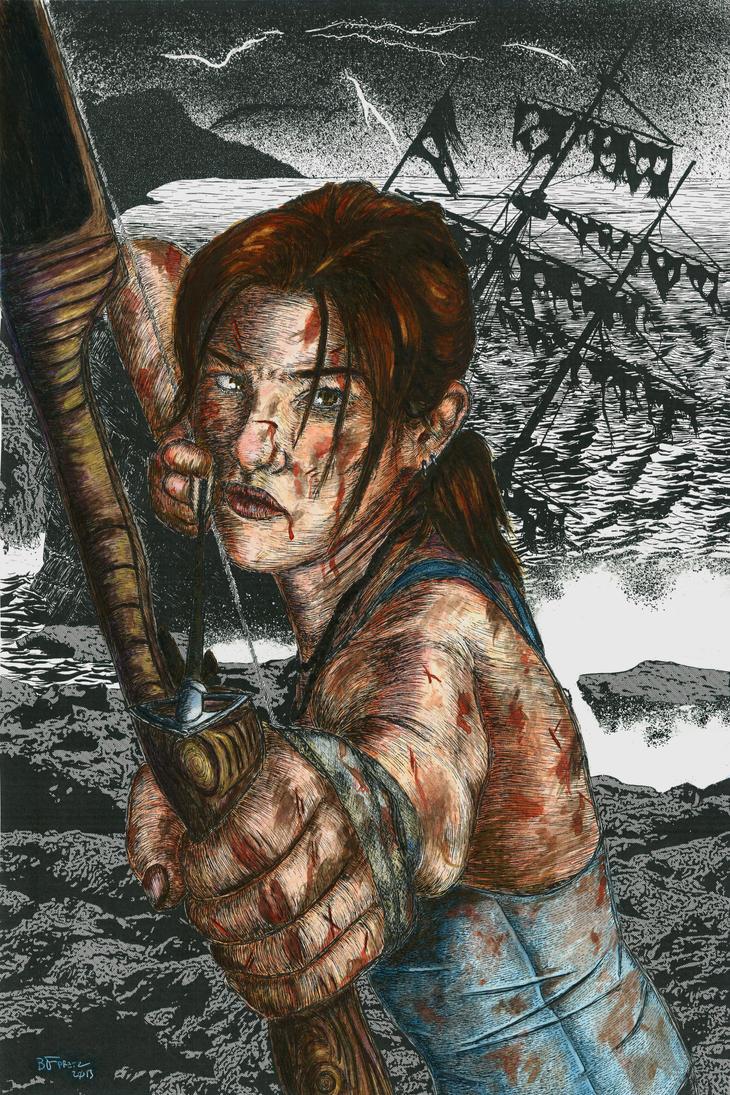 Tomb Raider Reborn Color by bfpretz