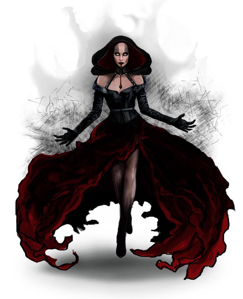 Lena Dark Witch Queen 2 by Noisetank21