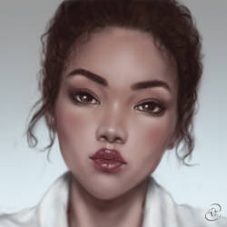Face Study by Anastasja-A-Art