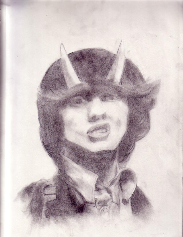 Angus Young by Kaboozles