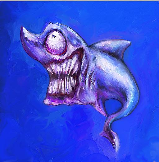 Sharky by Ghostkillah90