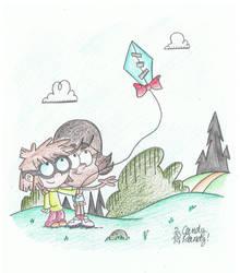The Friendship Kite by CandyRandy7D