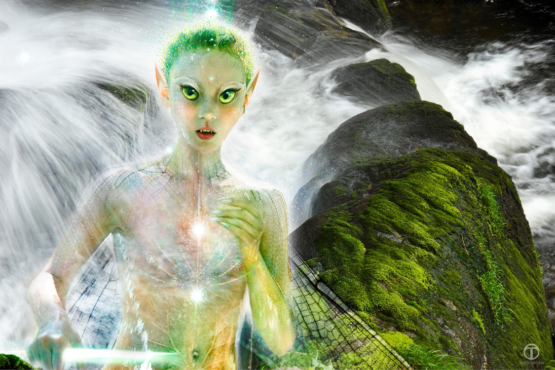 Astral Water Fae by theogroen