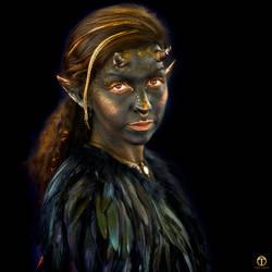 Hanna Elf by theogroen