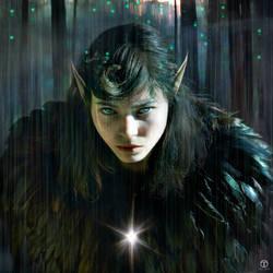 Dark Forest Elf by theogroen