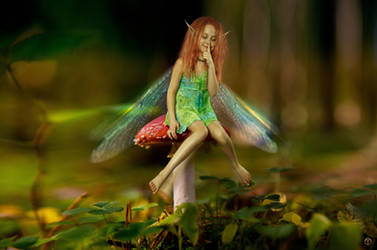 Little Forest Fae by theogroen