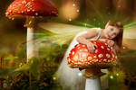 Elise und die Pilze by theogroen