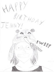 Happy Birthday Jenny by grasspilferer