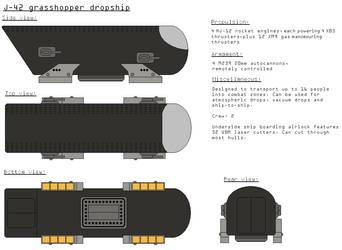 J-42 'Grasshopper' dropship