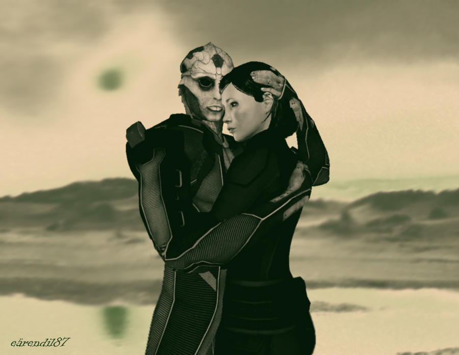 Thane and Shepard by Ktr-Liane07
