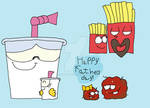 The Aqua Teen's First Fathers Day!