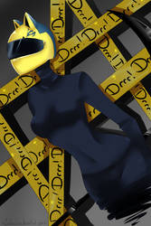 DRRR: Celty by milkie-nommi